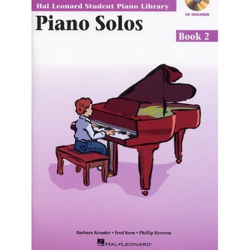 HAL LEONARD KREADER BARBARA - PIANO SOLOS, BOOK 2+ CD - PIANO SOLO