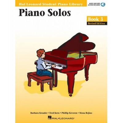 HAL LEONARD HAL LEONARD STUDENT PIANO LIBRARY PIANO SOLOS BOOK 3 + MP3 - PIANO SOLO