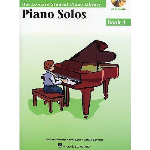 HAL LEONARD HAL LEONARD STUDENT PIANO LIBRARY PIANO SOLOS BOOK 4 - PIANO SOLO