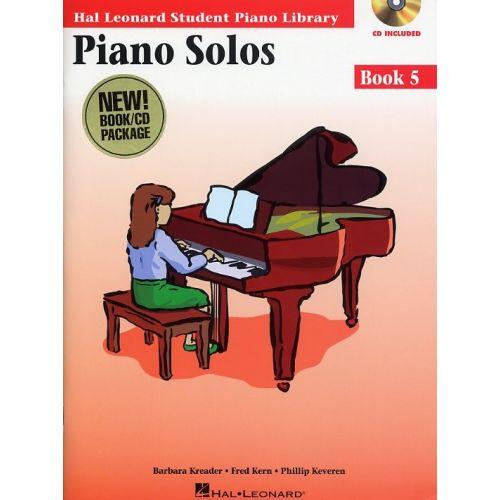 HAL LEONARD HAL LEONARD STUDENT PIANO LIBRARY PIANO SOLOS BOOK 5 + CD - PIANO SOLO