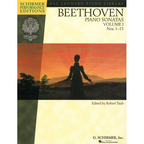 SCHIRMER SCHIRMER PERFORMANCE EDITION BEETHOVEN PIANO SONATAS TAUB VOL 1- PIANO SOLO