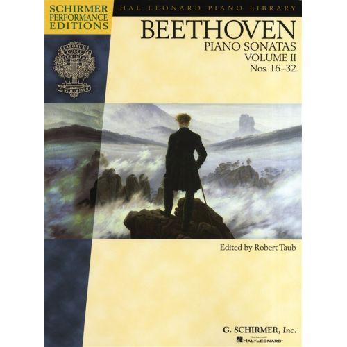 HAL LEONARD BEETHOVEN PIANO SONATAS VOLUME 2 NOS 16-32 - PIANO SOLO