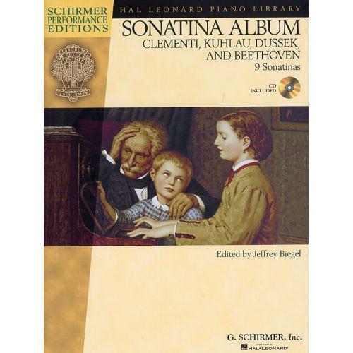 SCHIRMER SONATINA ALBUM + CD - 1 - PIANO SOLO