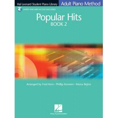 HAL LEONARD HAL LEONARD STUDENT PIANO LIBRARY - POPULAR HITS 2 + MP3 - PIANO SOLO