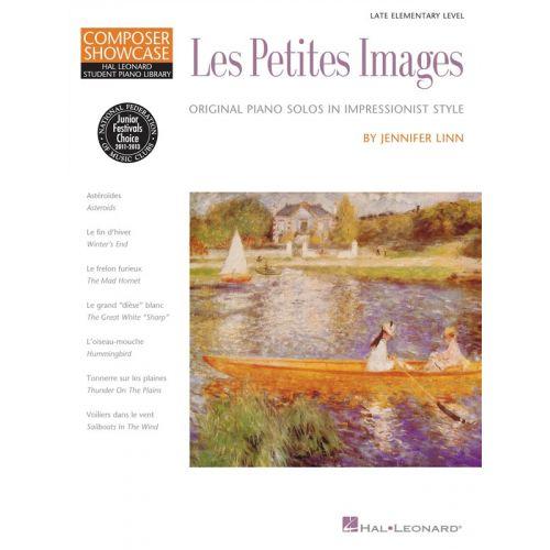 HAL LEONARD JENNIFER LINN LES PETITES IMAGES - PIANO SOLO