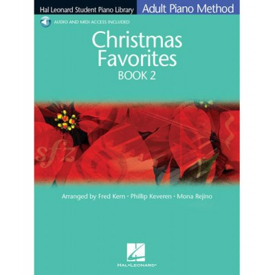 HAL LEONARD ADULT PIANO METHOD - CHRISTMAS FAVOURITE + MP3 - BK. 2 - PIANO SOLO