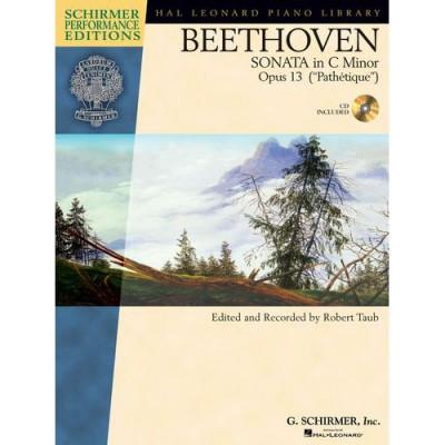 SCHIRMER TAUB ROBERT - BEETHOVEN SONATA IN C MINOR OP 13 - PIANO SOLO