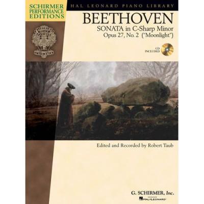 SCHIRMER TAUB ROBERT - BEETHOVEN SONATA IN C SHARP MINOR OPUS 27 - PIANO SOLO