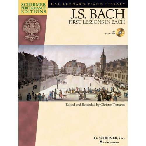 HAL LEONARD J.S. BACH FIRST LESSONS IN BACH - PIANO SOLO