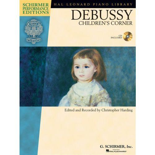 HAL LEONARD CLAUDE DEBUSSY CHILDREN'S CORNER - PIANO SOLO