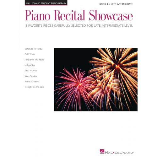 HAL LEONARD Piano Recital Showcase - Book Four: Late Intermediate Level