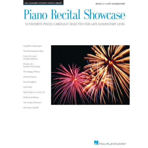 HAL LEONARD Piano Recital Showcase - Book Two: Late Elementary Level