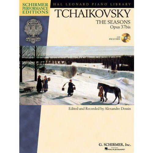SCHIRMER TCHAIKOVSKY SEASONS OP37B + CD - PIANO SOLO