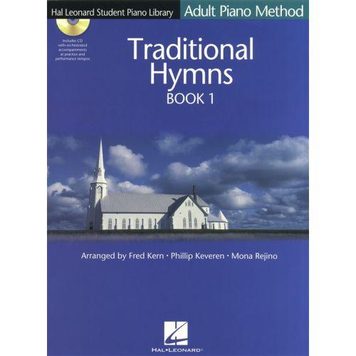 HAL LEONARD HAL LEONARD STUDENT PIANO LIBRARY - TRADITIONAL HYMNS BK1 + CD - PIANO SOLO