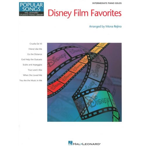 HAL LEONARD HL STUDENT PIANO LIBRARY POPULAR SONGS DISNEY FILM FAVES REJINO - PIANO SOLO