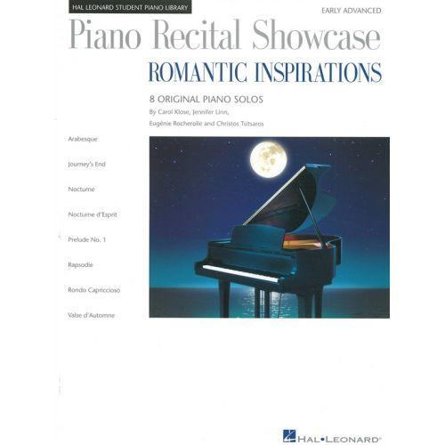 HAL LEONARD HAL LEONARD STUDENT PIANO LIBRARY - ROMANTIC INSPIRATIONS 8 SOLOS- PIANO SOLO