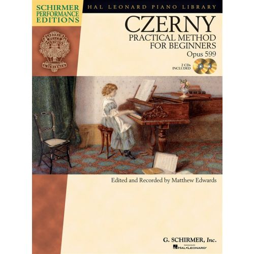 HAL LEONARD CZERNY CARL - PRACTICAL METHOD FOR BEGINNERS OP.599 PIANO + CD - PIANO SOLO