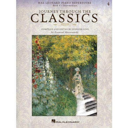 HAL LEONARD JOURNEY THROUGH THE CLASSICS 4 INTERMEDIATE - PIANO SOLO