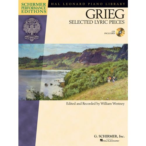 HAL LEONARD GRIEG - EDVARD GRIEG - SELECTED LYRIC PIECES - PIANO SOLO