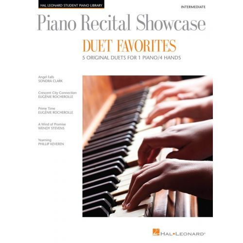 HAL LEONARD RECITAL SHOWCASE DUET FAVES - PIANO DUET