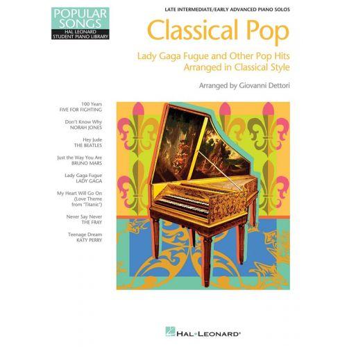 HAL LEONARD HAL LEONARD STUDENT PIANO LIBRARY - CLASSICAL POP - PIANO SOLO