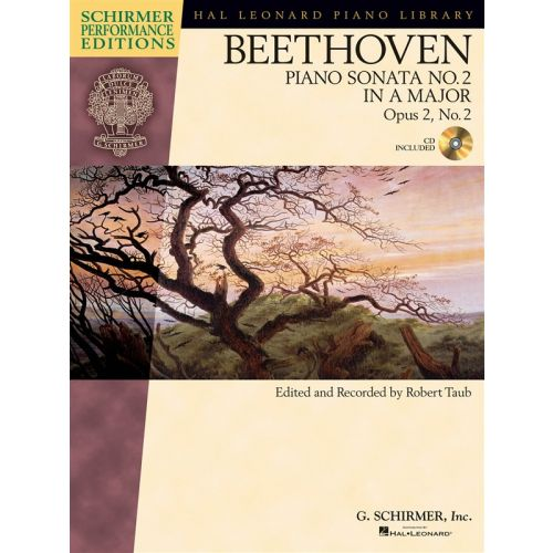 HAL LEONARD SCHIRMER PERFORMANCE EDITIONS BEETHOVEN SONATA NO. 2 + CD - PIANO SOLO