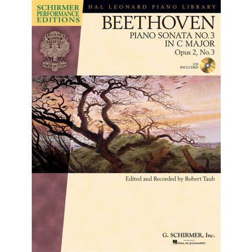 HAL LEONARD SCHIRMER PERFORMANCE EDITIONS BEETHOVEN SONATA NO. 3 + CD - PIANO SOLO