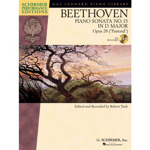 HAL LEONARD SCHIRMER PERFORMANCE EDITIONS BEETHOVEN SONATA NO.15 OP.28 + CD - PIANO SOLO