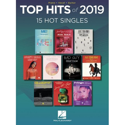 HAL LEONARD TOP HITS OF 2019 - PVG