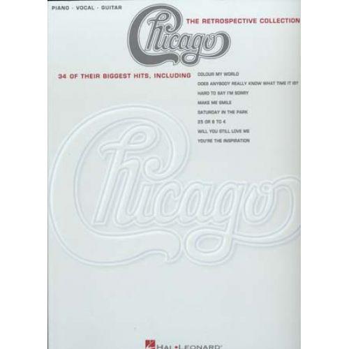 HAL LEONARD CHICAGO RETROSPECTIVE COLLECTION 34 HITS- PVG TAB