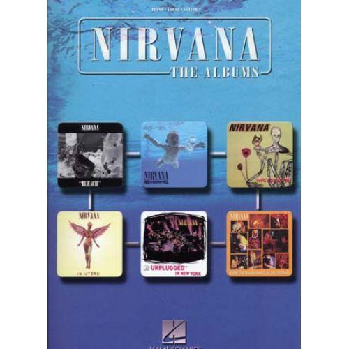 HAL LEONARD NIRVANA - THE ALBUMS - PVG