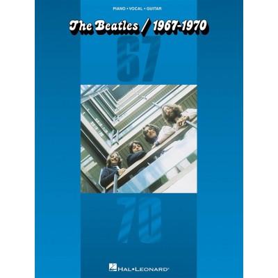 HAL LEONARD THE BEATLES - 1967-1970 - PVG
