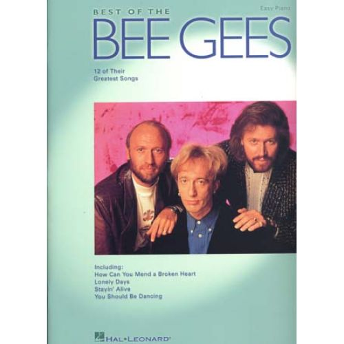 HAL LEONARD BEE GEES - BEST OF - PVG