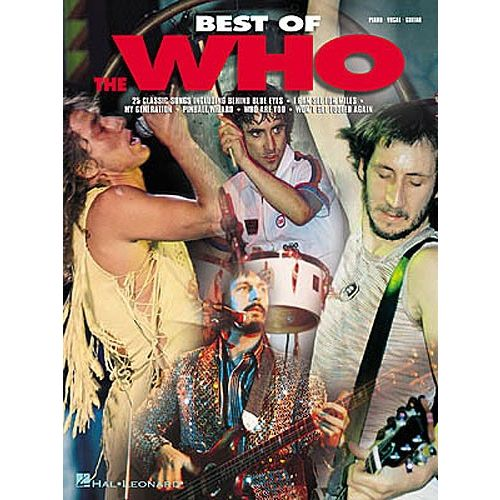 HAL LEONARD BEST OF THE WHO - PVG