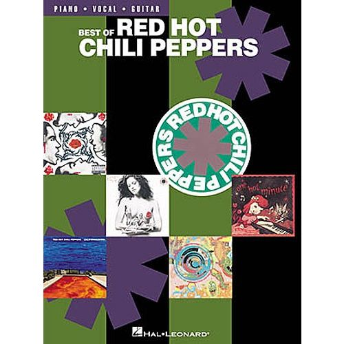 HAL LEONARD RED HOT CHILI PEPPERS - BEST OF - PVG