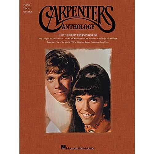 HAL LEONARD THE CARPENTERS ANTHOLOGY - PVG