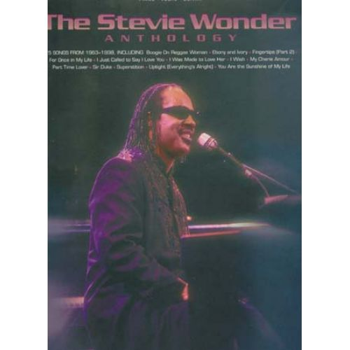 HAL LEONARD WONDER STEVIE - ANTHOLOGY - PVG