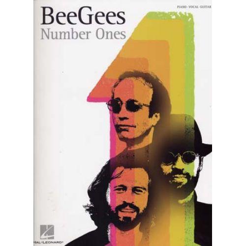 HAL LEONARD BEE GEES - NUMBER ONES - PVG