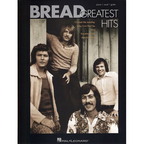 HAL LEONARD BREAD GREATEST HITS - PVG