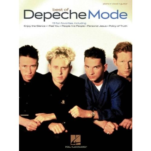 HAL LEONARD BEST OF DEPECHE MODE PIANO VOCAL GUITAR SONGBOOK - PVG