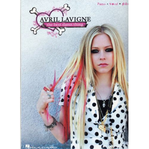 HAL LEONARD LAVIGNE AVRIL - BEST DAMN THING - PVG