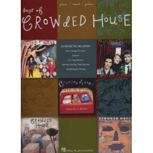 HAL LEONARD CROWDED HOUSE - BEST OF - PVG