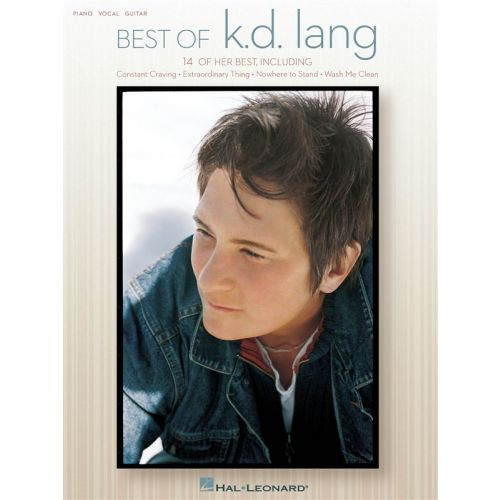 HAL LEONARD BEST OF K.D. LANG - PVG