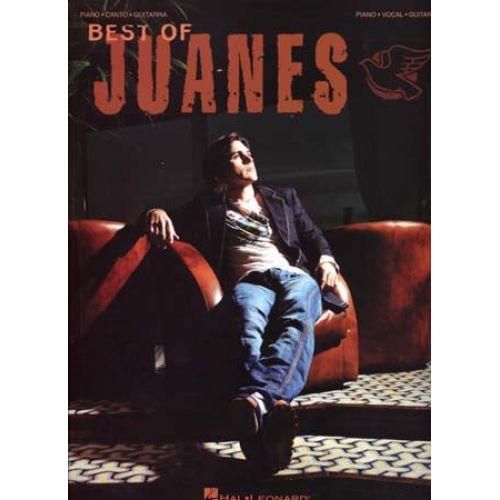 HAL LEONARD JUANES - BEST OF PVG