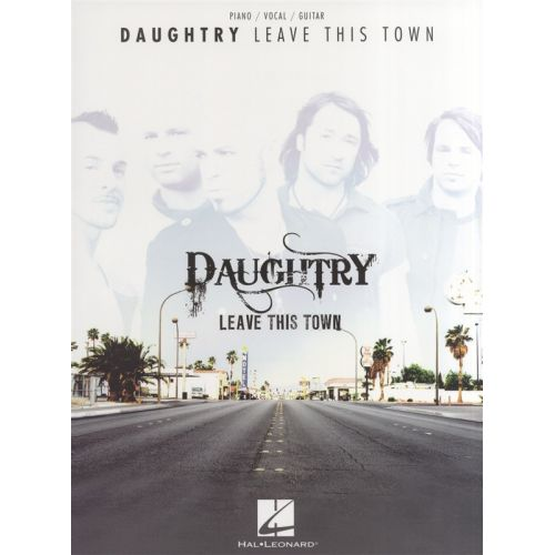 HAL LEONARD DAUGHTRY LEAVE THIS TOWN - PVG