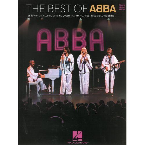 HAL LEONARD THE BEST OF ABBA - PVG