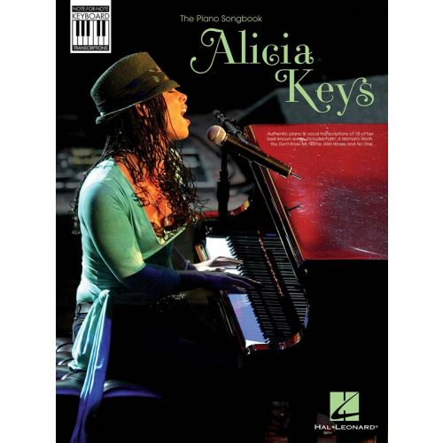 HAL LEONARD KEYS ALICIA NOTE FOR NOTE KEYBOARD TRANSCRIPTIONS - PIANO SOLO