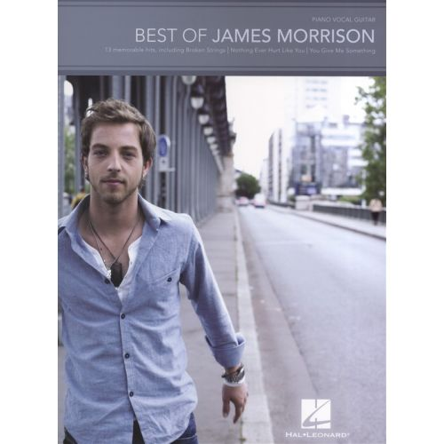 HAL LEONARD BEST OF JAMES MORRISON - PVG
