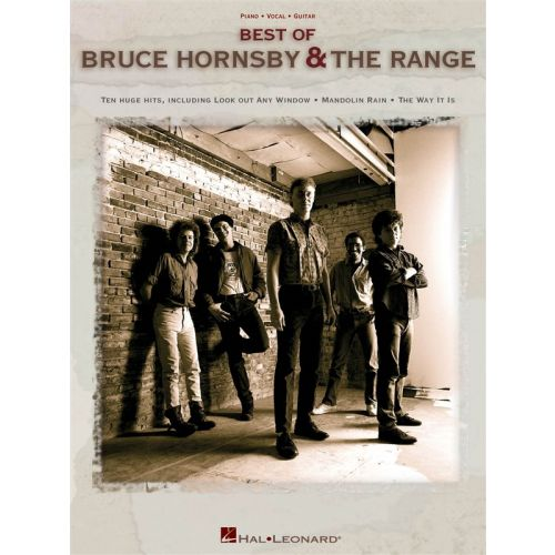 HAL LEONARD HORNSBY BRUCE AND THE RANGE BEST OF - PVG