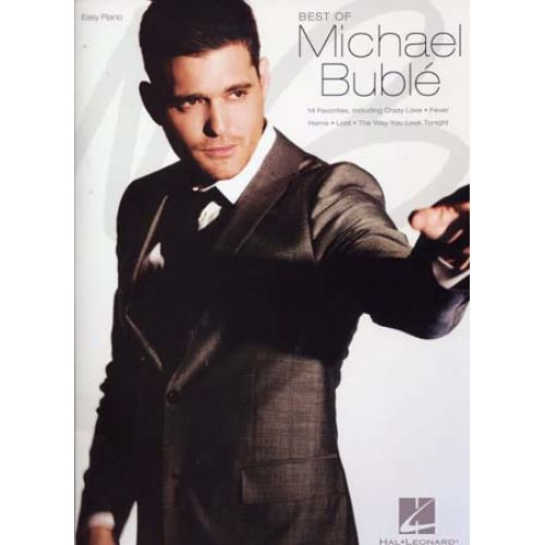 HAL LEONARD BUBLE MICHAEL - BEST OF - EASY PIANO